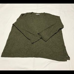Madewell women wool blend pull over small
